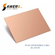 Placa PCB Fibra De Vidrio 20*30CM Doble Cara