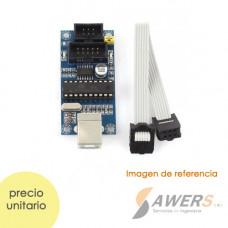 Grabador ATMEL USBtinyISP V2.0