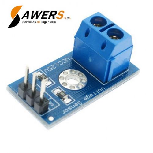 Sensor de voltaje DC 0-25V FZ0430