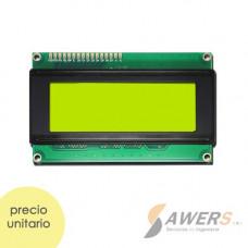 Pantalla LCD Alfanumerica 20x4