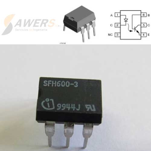 SFH600 Optoacoplador DIP-6