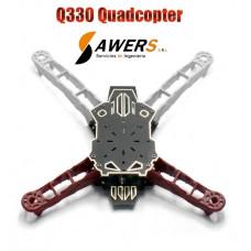 Kit Frame Drone Quadcopter Q330 (fibra de vidrio)