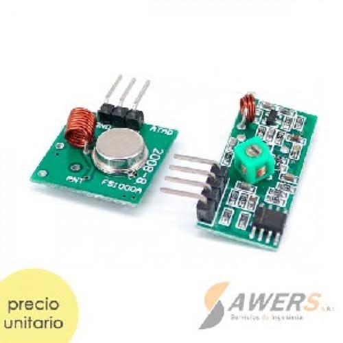 Modulo RF 433Mhz Transmisor y Receptor