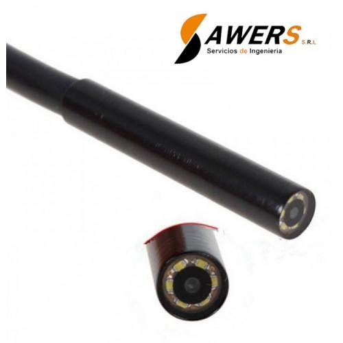 Camara de inspeccion endoscopica 7mm 5Mts
