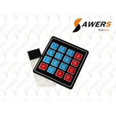 Teclado de Membrana 4x4 Keypad