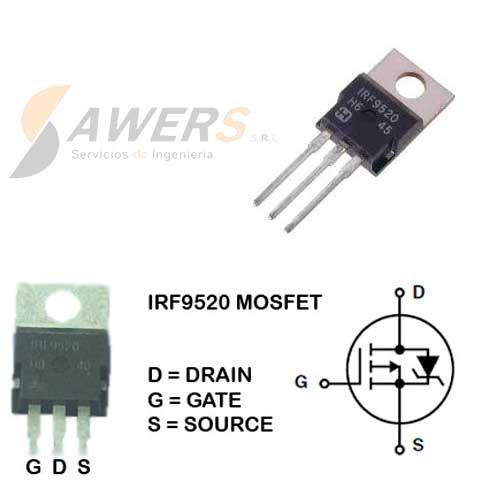 IRFSZ14A Mosfet N 60V 14A