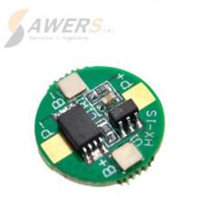 BMS Circuito de carga y descarga 1S 2.5A 18650
