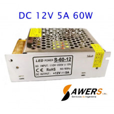 Fuente Switching 12V-5A-60W 220VAC