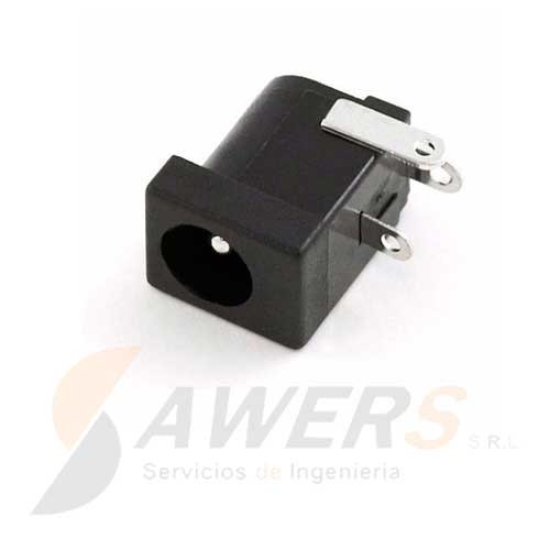 Conector Power Jack Hembra  2.35mm