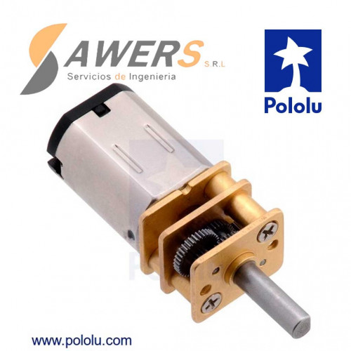 Micro Motor Pololu 75:1 HPCB 6V