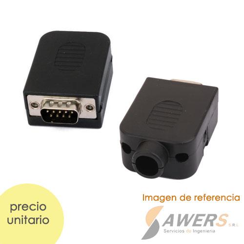 Conector DB9 MAX232 PCB Macho