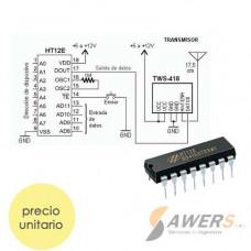 Codificador de Control Remoto HT12E