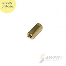 Tornillo separador hex metalico H-H M3x8 M3x6 M3x10