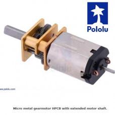Micro Motor Pololu 5:1 HPCB 6V eje Extendido