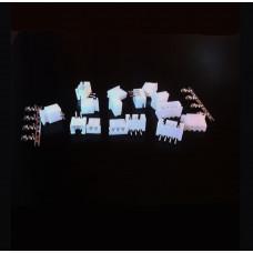 Conectores Molex Hembra-Macho