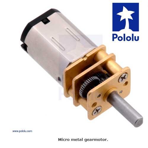 Micro Motor Pololu 5:1 HP 6V