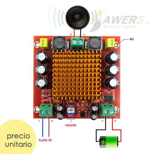 XH-M544 Amplificador Mono 24V-150W