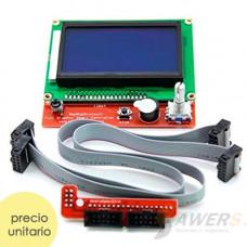 Kit LCD 128x64 para impresora 3D