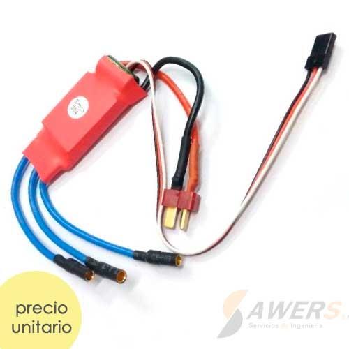ESC Controlador de Velocidad Brushless SimonK 30A
