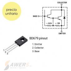 BD679 Transistor Darlington NPN 80V-40W 750 hFE