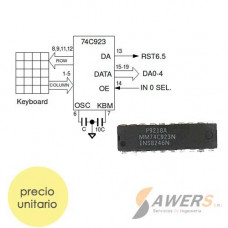 MM74C923 16-KEY Encoder