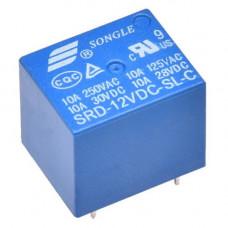 Relay de 12VDC 10A SPDT