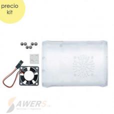 Case ABS raspberry PI 3 con ventilador