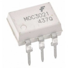 MOC3021 Optoacoplador Salida Triac 400V