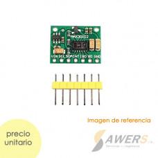 MAX30102 Oximetro SpO2 de pulso cardiaco