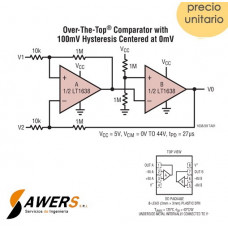 LT1638 Dual OP-AMP 1.2MHz Rail-to-Rail IN-OUT