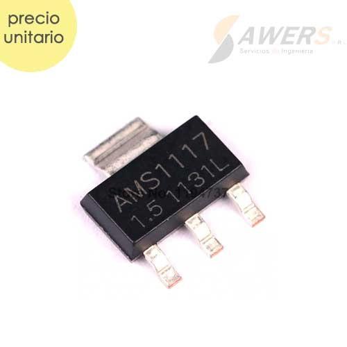 AMS1117 1.5V Regulador de voltaje (smd)