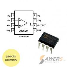 AD620 Amplificador de instrumentacion DIP-8