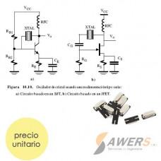 XT 16 Mhz Smd Oscilador de Cristal de Cuarzo