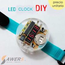 Reloj Digital Pulsera (Kit para armar)