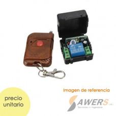 Control Remoto RF 1CH Relay 12V (433Mhz)