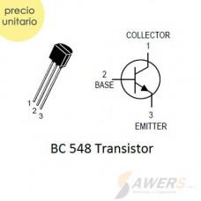 BC548 Transistor NPN 30V 0.1A 110HFE