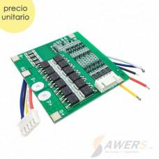 BMS Circuito de carga y descarga 4S 12V 30A LiFePO