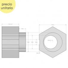Espaciador Eccentrico 6,35mm