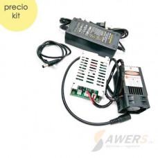Modulo Laser 15W 450nm Lente Ajustable 12V PWM TTL