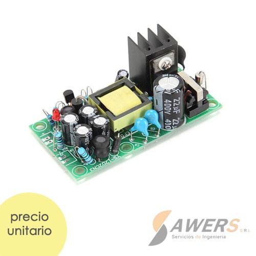 Fuente Switching Dual 12V-1A 5V-1A 18.5W 220VAC