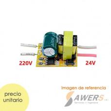 Led Driver 220VAC - 12VDC 3W