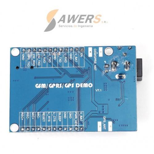 A7 Ai-Thinker Quad-band GSM-GPRS-GPS (antena IPEX)