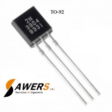 2N3904 Transistor NPN  60V 300Mhz 200hFE