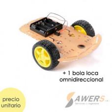 Kit Chasis 2WD Robot