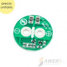 Supercapacitor 2.7V 500F Circuito proteccion