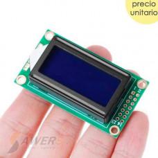 Pantalla LCD Alfanumerico 8x2