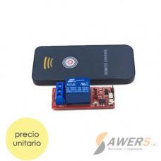 Control Remoto IR 1CH con Relay 12VDC
