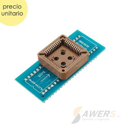 Zocalo PLCC44 a DIP-40