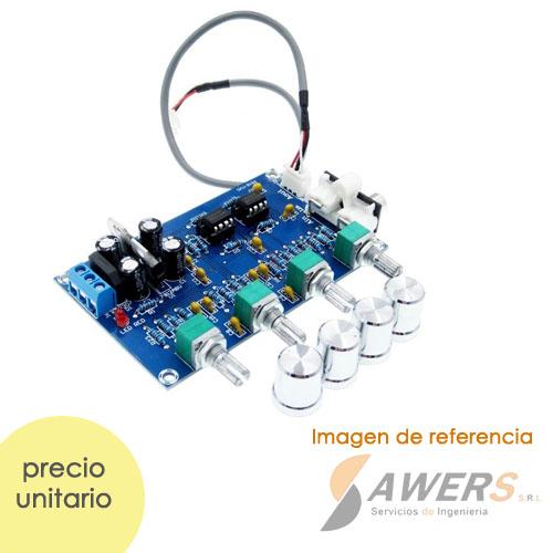 NE5532 OP-AMP HIFI preamplificador 12VAC