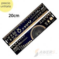 Regla PCB para electronico 20cm